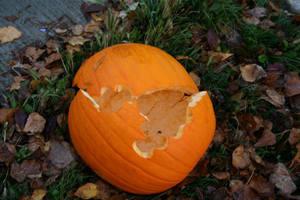 Death of  a Pumpkin by falcona