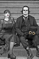 Steampunk pair by falcona