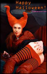 Halloween Crossdressing by TheCrossdresser