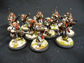 Houseguard Riflemen by Solav