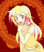 Illeana - Lady Sun by kabocha