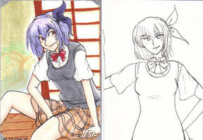 Ayane Cards by kabocha
