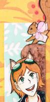 Squirrel Girl by kabocha