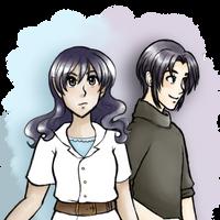 Kei and Remi by kabocha