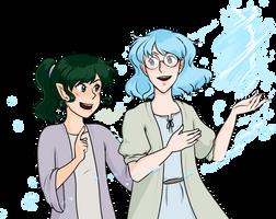 Aster and Doran by kabocha