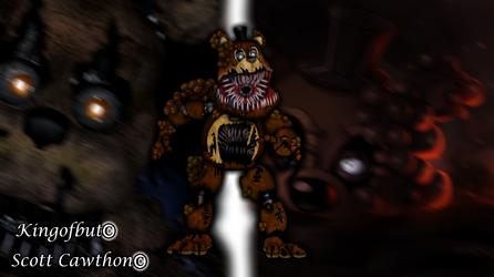 Twisted Freddy by kingofbut