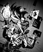 BatMan Joker by DaveBullock