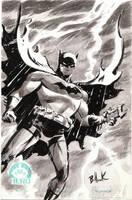 Batman HERO INITIATIVE sketch by DaveBullock