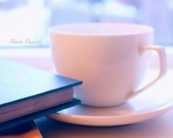 Having tea by CozyComfyCouch