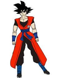 Fusion Goku Concept by MegaScarletsteam