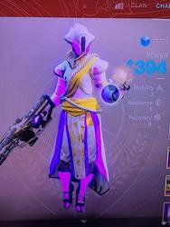 My Warlock Pre-forsaken by MegaScarletsteam