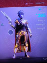 My Hunter Pre-forsaken (no helmet) by MegaScarletsteam