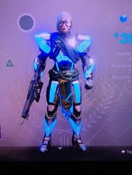 My Titan Pre-forsaken (no helmet) by MegaScarletsteam
