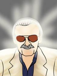 Stan Lee Tribute Pic by MegaScarletsteam