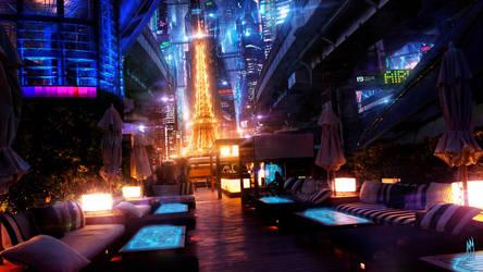 Paris by Night by AkimovMikhail