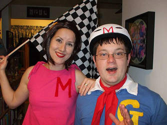 Speed Racer - Halloween 2010 by 2Dlover