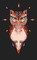 Owl Gaze by AngieMyst