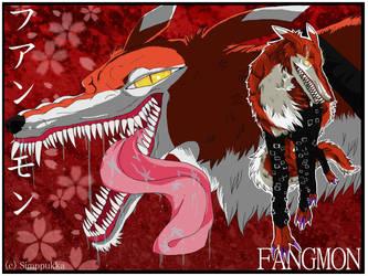 Fangmon wallpaper by Simppukka