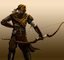 Medieval Archer by Son8of8Man