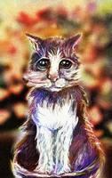 Cat by Burov