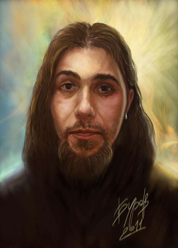 Portrait of Kiril by Burov