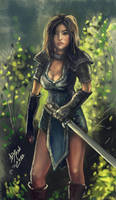 Warrior by Burov