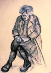 Study Grandmother by Burov