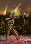 Elf Hunter by Burov