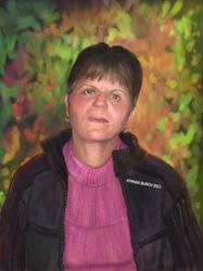 My Mother's Portrait by Burov