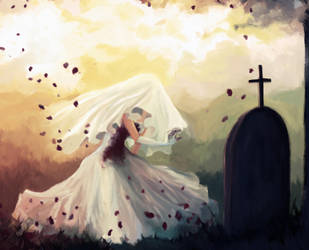 In Death we shall not part by paintausea