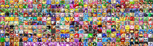 SSB4 Ultimate Roster by SylveonGives