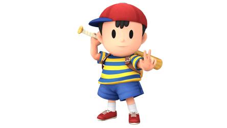 SSBX Ness Render by SylveonGives