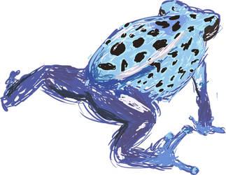 Poison Dart Frog by rachelmacwhirter