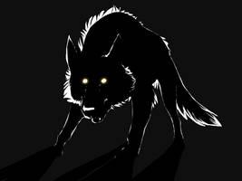 Demon Wolf by AnnieHyena