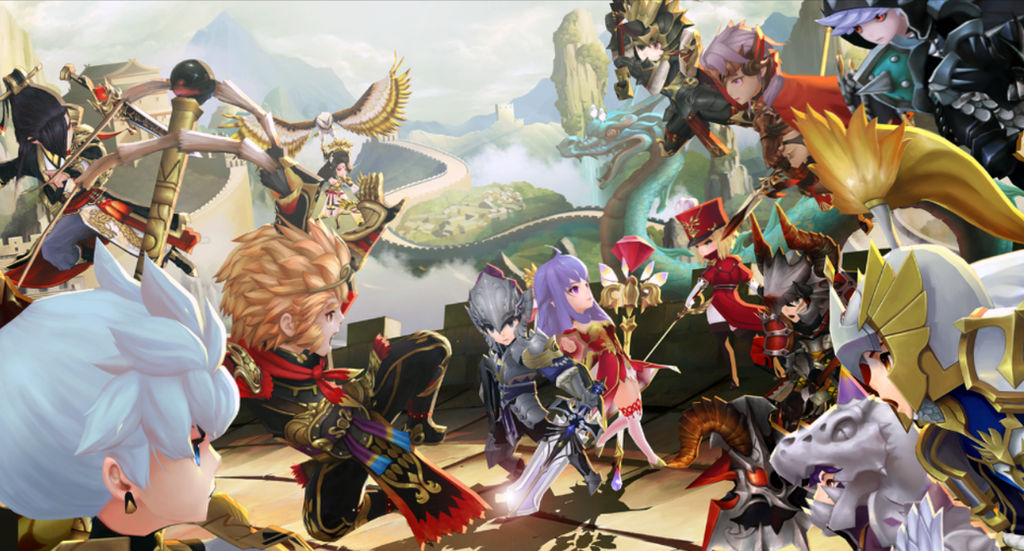 Seven Knights Great Wall Of China Wallpaper By Rubensonps3 On Deviantart