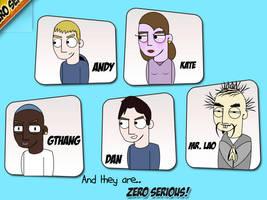 Zero Serious Promo Comic by jeayese