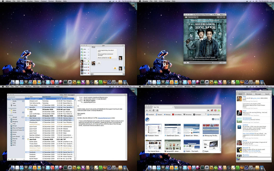December Desktop 2009 by jeayese