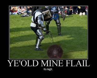 Ye'Old Mine Flail by VanRiku