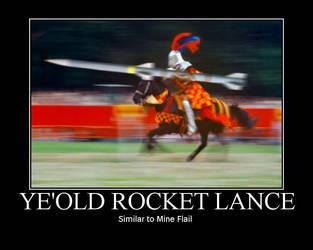 Ye'Old Rocket Lance by VanRiku