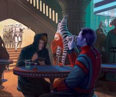 Hiding Among Friends by JeffLeeJohnson