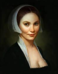 Flemish-style portrait by JeffLeeJohnson