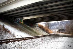 Under The Overpass by PhillyPuddy