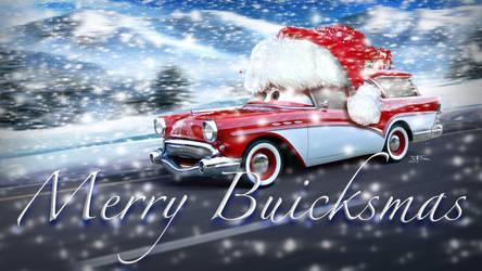 Merry Buicksmas ! by danyboz