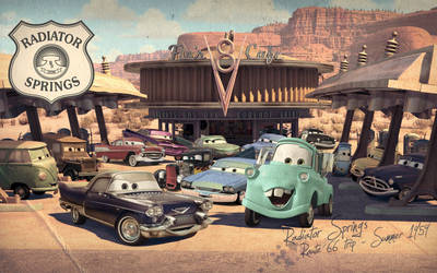 Cars | Back to the 50's by danyboz