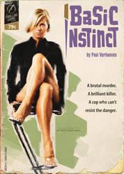 Basic Instinct | Pulp cover by danyboz