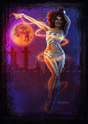 VooDoo Witch | Trinquette Challenge by danyboz