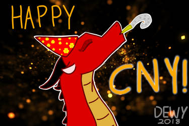 Happy CNY Peeps! by WindsweptEagle