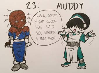 Inktober 2018: 23_Muddy by InnuDoggy