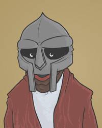 MF Doom by nathanielmilburn