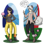 HL: Cirque Totems, Elsa and Zoran by Dianamond